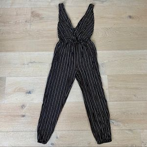 Audrey 3+1 Striped Jumpsuit